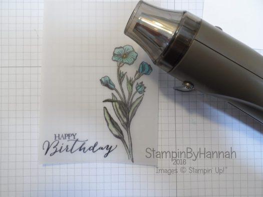 Stampin' Up! UK Vellum tips and tricks