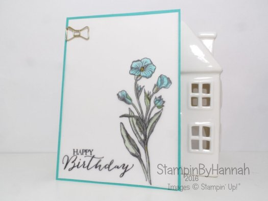 Stampin' Up! UK Make It Monday Blender Pen colouring Butterfly Basics