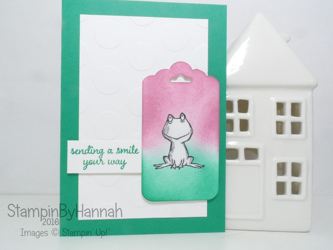 Love you Lots Love and Affection Card using Stampin' Up! UK Products