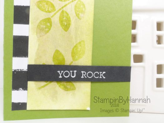 Watercolour Lifting Video Tutorial using Stampin' Up! inks