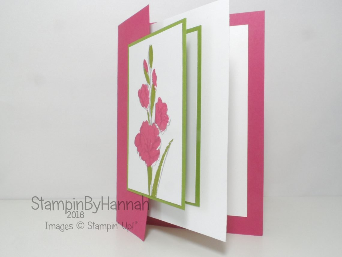 Fancy Fold Friday Double Front Card Featuring Gifts of Love from Stampin' Up! UK