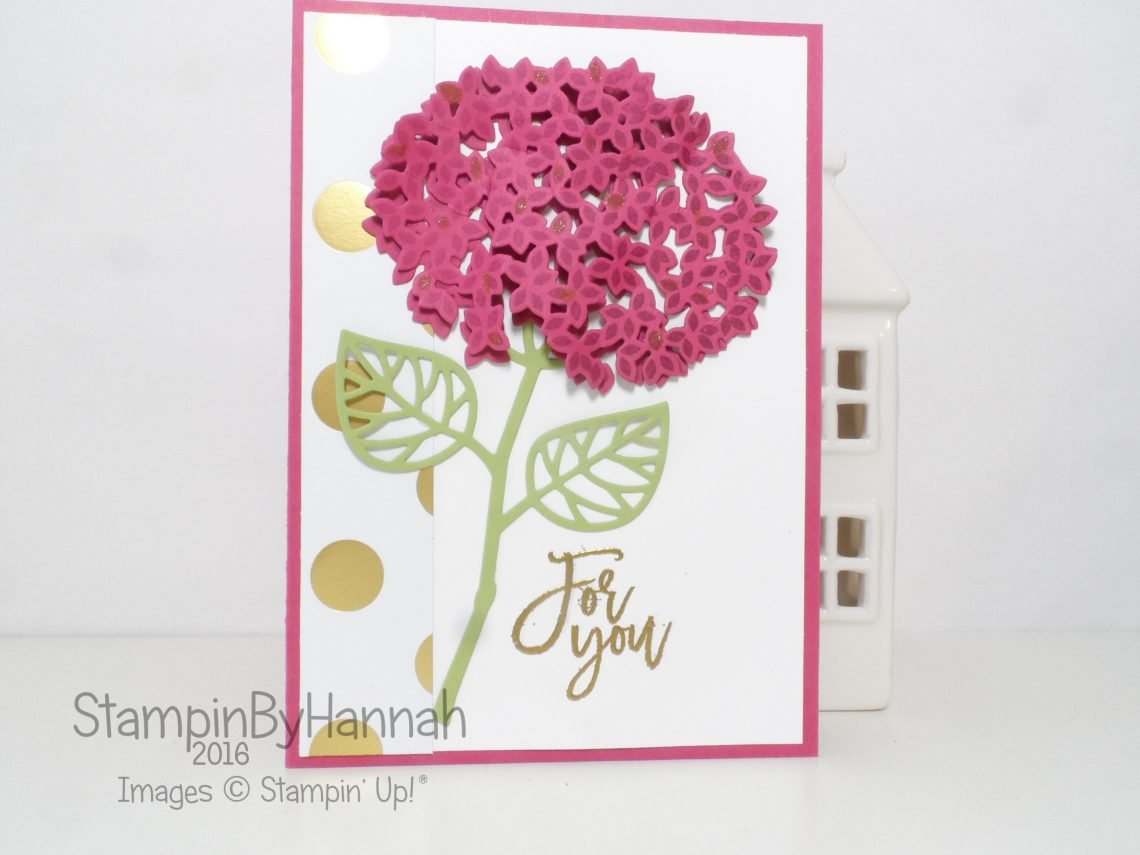 Floral Card using Thoughtful Branches from Stampin' Up! UK