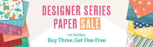 Stampin' Up! UK Designer Series Paper Sale