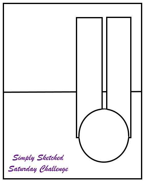 Simply Sketched Saturday Challenge October 2016