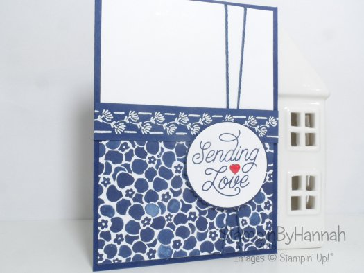Simply Sketched Saturday Challenge October 2016 Designer Tin of Cards Floral Boutique Card using Stampin' Up! UK products