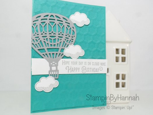 Happy Birthday Card and PDF download using Lift Me Up from Stampin' Up! UK