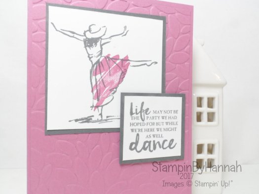 January Customer Thank You Cards using Beautiful You from Stampin' Up! UK