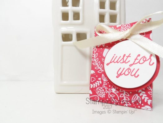 Make It Monday Video Tutorial Valentines Love Hearts Gifts using Sending Love Designer Series Paper from Stampin' Up! UK