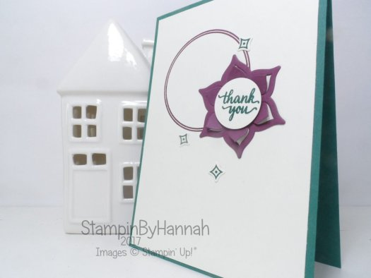 Make It Monday video tutorial featuring Eastern Palace from Stampin' Up! UK