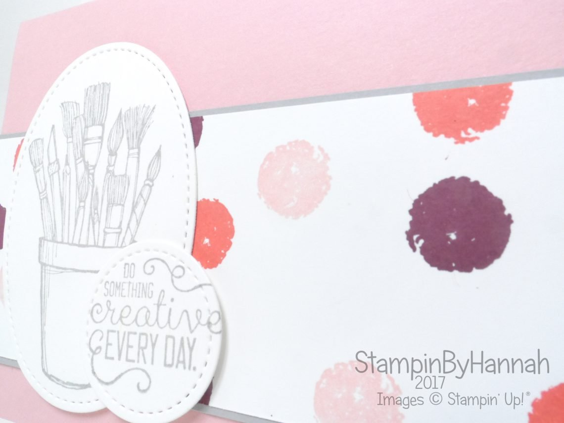Just Because card using Crafting Forever and Work of Art from Stampin' Up!