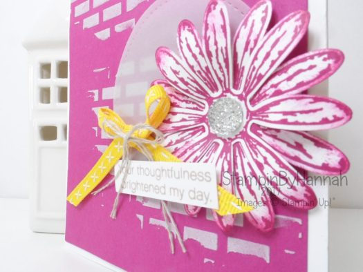 Bold and Bright Daisy Kindness card using Stampin' Up! products