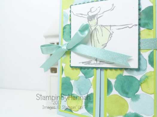Beautiful You Gate Fold Card using Naturally Eclectic from Stampin' Up!