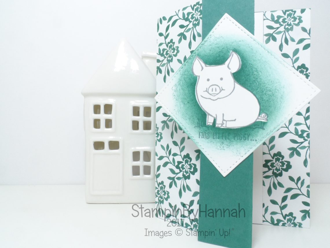 Techniques Video Masking using This Little Piggy from Stampin' Up!