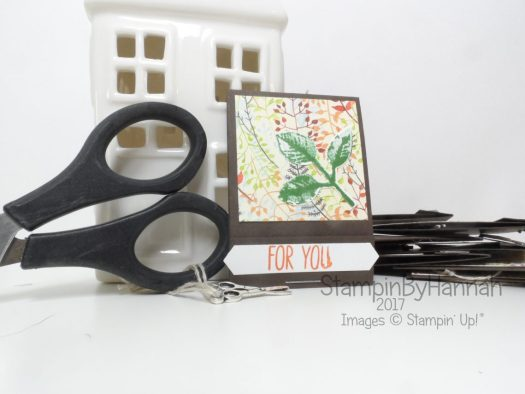 Make It Monday Video Tutorial Scissor Charm Matchbooks using Painted Harvest from Stampin' Up!