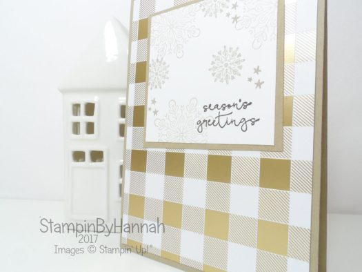 Christmas Countdown Simple Year of Cheer Christmas Card set using Stampin' Up! products