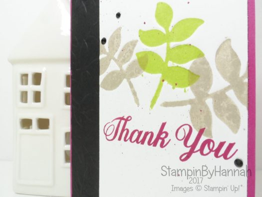 Creativity Combined Blog Hop Thank You card using Oh So Eclectic and Daisy Delight from Stampin' Up!