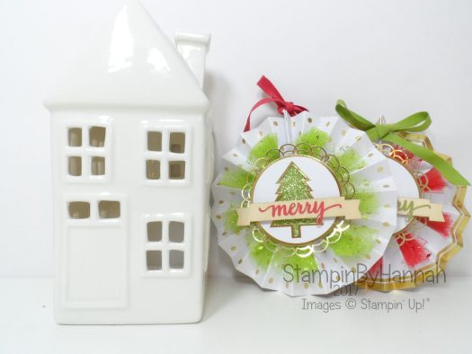 Make It Monday Video Tutorial Stampin' Up! Be Merry Kit Tips and Tricks