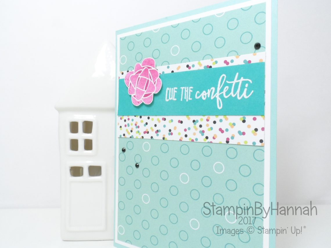 StampinByHannah Birthday Card Club featuring Picture Perfect Birthday from Stampin' Up!