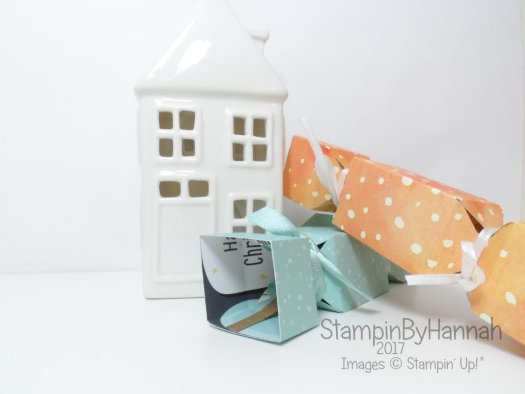 Square Crackes Video Tutorial using Designer Series Paper from Stampin' Up!