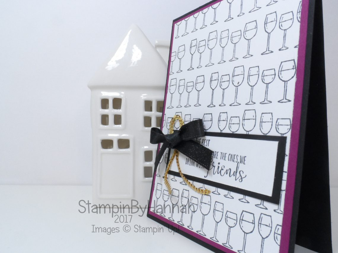 Repeat Stamping with Half Full from Stampin' Up!