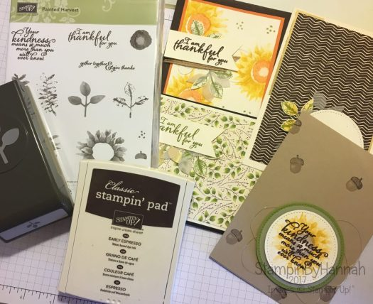 StampinByHannah Stamp of the Month Club using Painted Harvest from Stampin' Up!