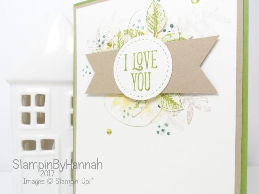How to make a guy friendly Valentines card using Stampin' Up! products