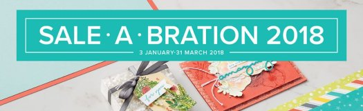 Stampin' Up! Sale-a-bration 2018