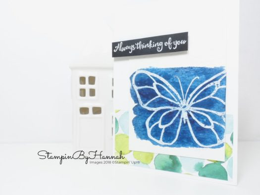 How to use Brusho from Stampin' Up! with Beautiful Day