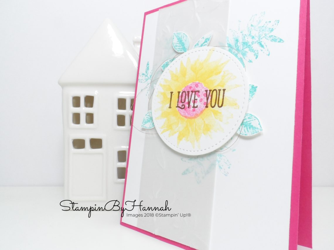 Inspire.Create.challenges Colour Challenge using Painted Harvest from Stampin' Up!