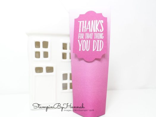 Make It Monday Video Tutorial How to Make a Self Closing Bag using Stampin' Up! Products