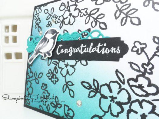 Make It Monday Video Tutorial Colour Petal Passion Designer Series Paper form Stampin' Up!