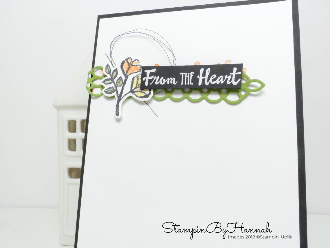 Petal Palette Just Because card using Stampin' Up! products
