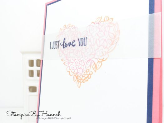 Cardmaking Techniques Video Tutorial Rock and Roll Stamping with Heart Happiness from Stampin' Up!