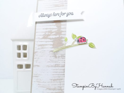 Cute thinking of you card using Sharing Sweet Thoughts from Stampin' Up!