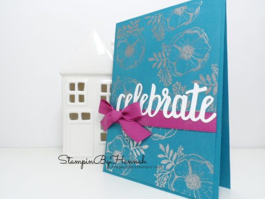 Heat Embossing with Amazing You from Stampin' Up! Facebook Live video