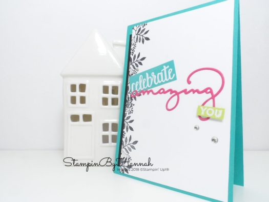 Amazing You from Stampin' Up! Artisan Design Team CASE card