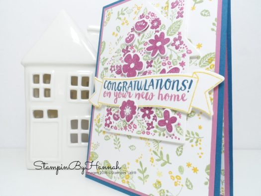Home Life card using Stampin' Up! supplies