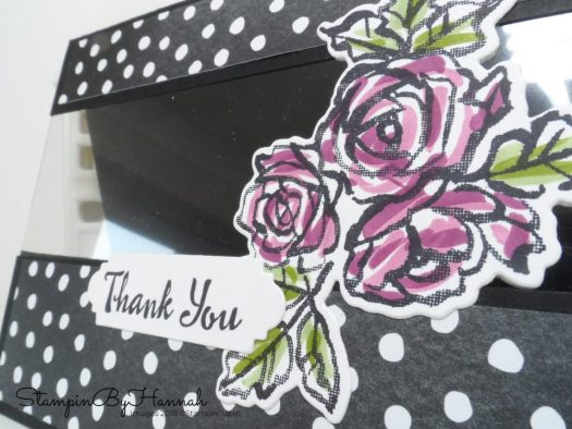 How to make a fun Window card using Petal Palette from Stampin' Up! with StampinByHannah Independent Stampin' Up! UK Demonstrator
