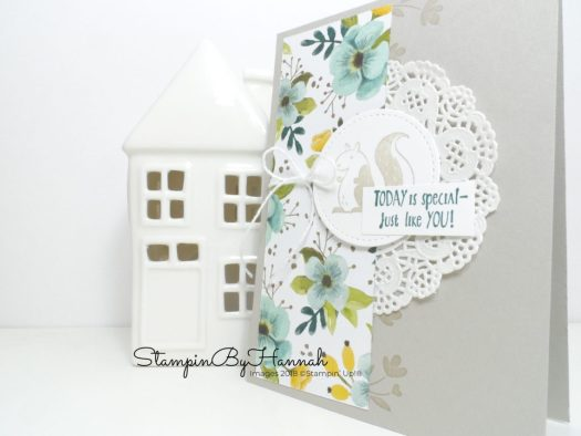 Cute Friend card using Hedgehugs from Stampin' Up! with StampinByHannah Facebook Live