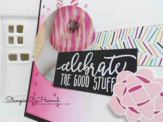 How to create a fun birthday card using Picture Perfect Birthday from Stampin' Up!