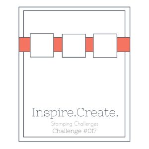 Inspire.Create.Challenge Stampin' Up! Sketch Challenge