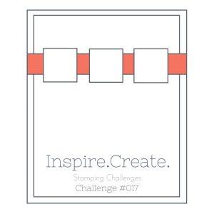 Inspire.Create.Challenge Stampin' Up! Sketch Challenge