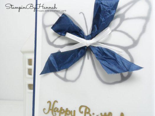 Go for Greece Blog Hop Happy Birthday Card using Beautiful Day