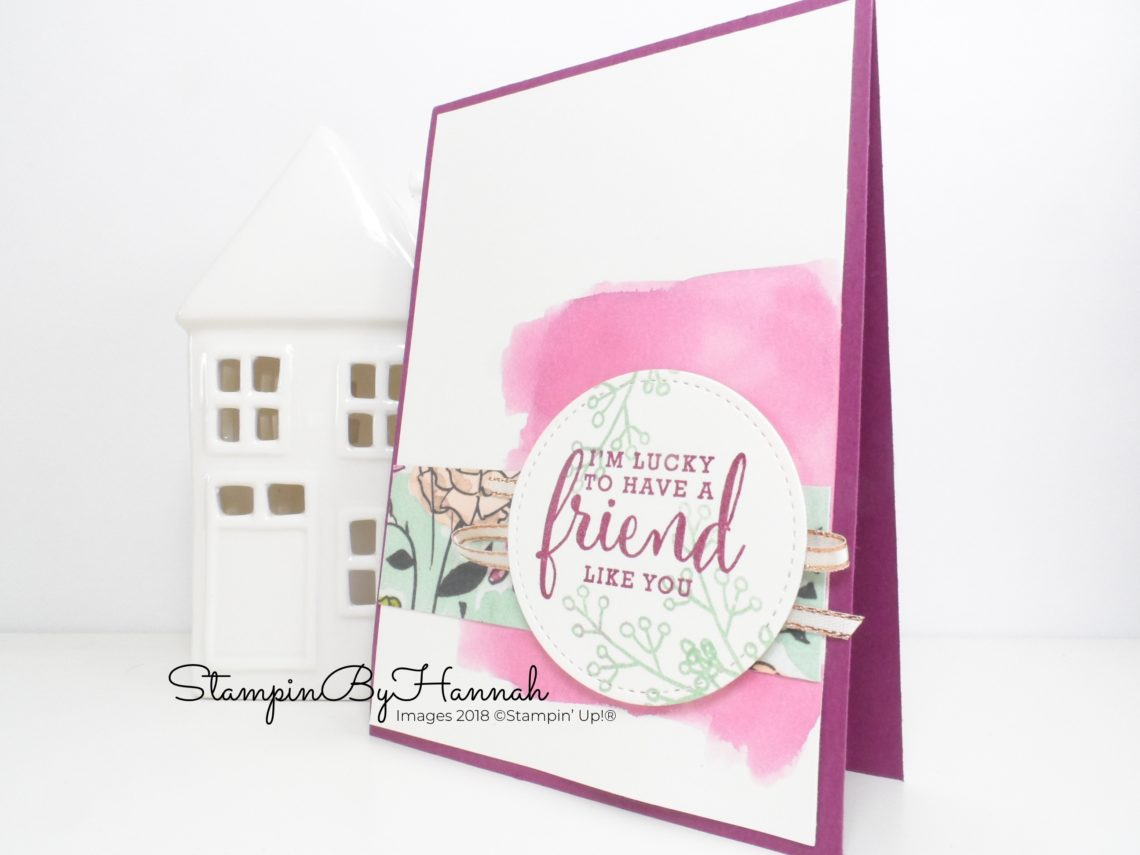 Make It Monday with the Stampin' Up! Share What You love Suite