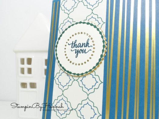 Eastern Beauty Customer Thank You cards using Stampin' Up! products