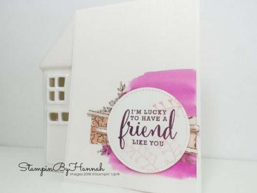 Stampin' Up! Love What You Do Display Board Sample