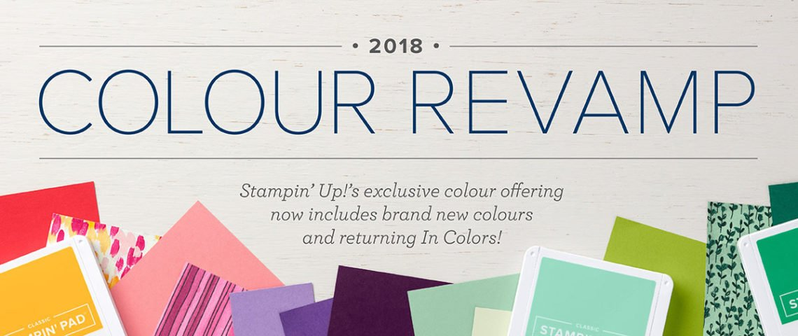 Stampin' Up! Colour Revamp
