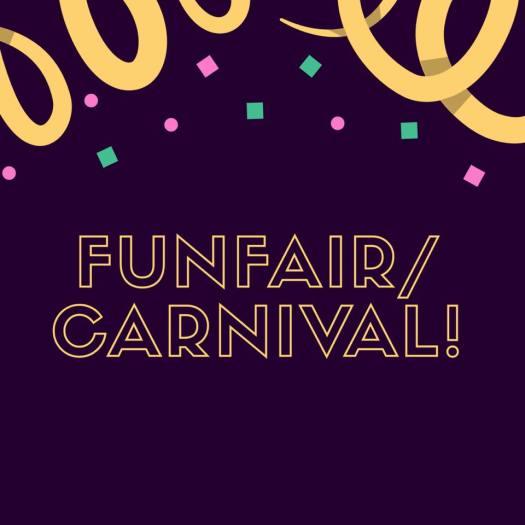 InspireInk Blog Hop cardmaking challenge theme FunFair Carnival