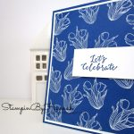 Let's Celebrate Card using In Every Season from Stampin' Up!