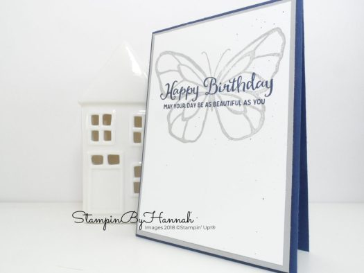 Quick and Classic Birthday Card Video Tutorial using the Stamparatus from Stampin' Up!